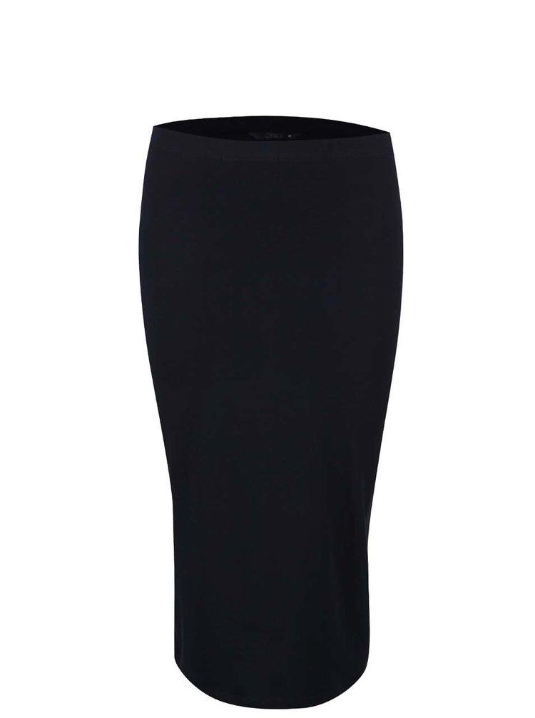 Tmavě modrá pouzdrová sukně ONLY Abbie