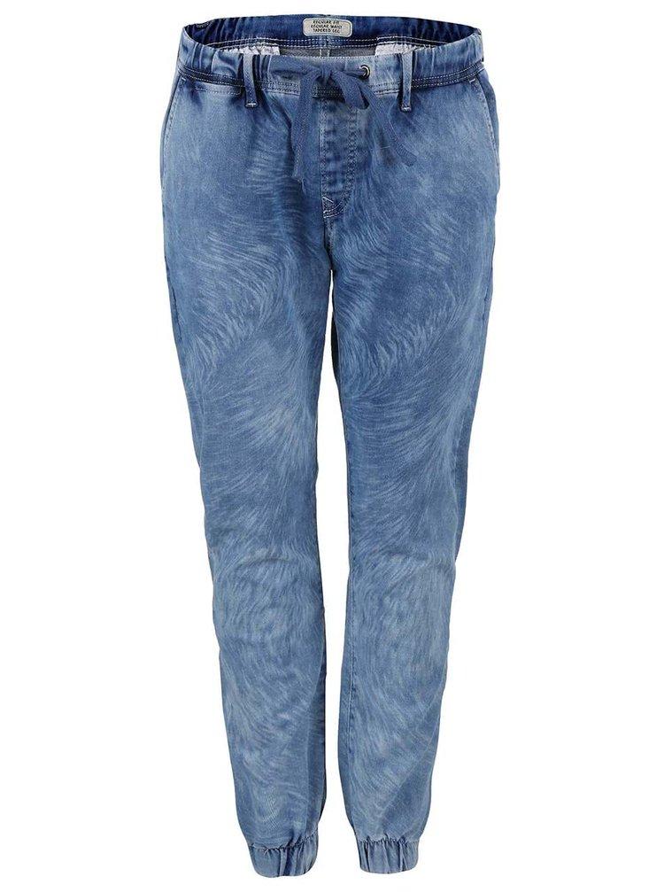 Modré dámské džíny na tkaničku Pepe Jeans Cosie