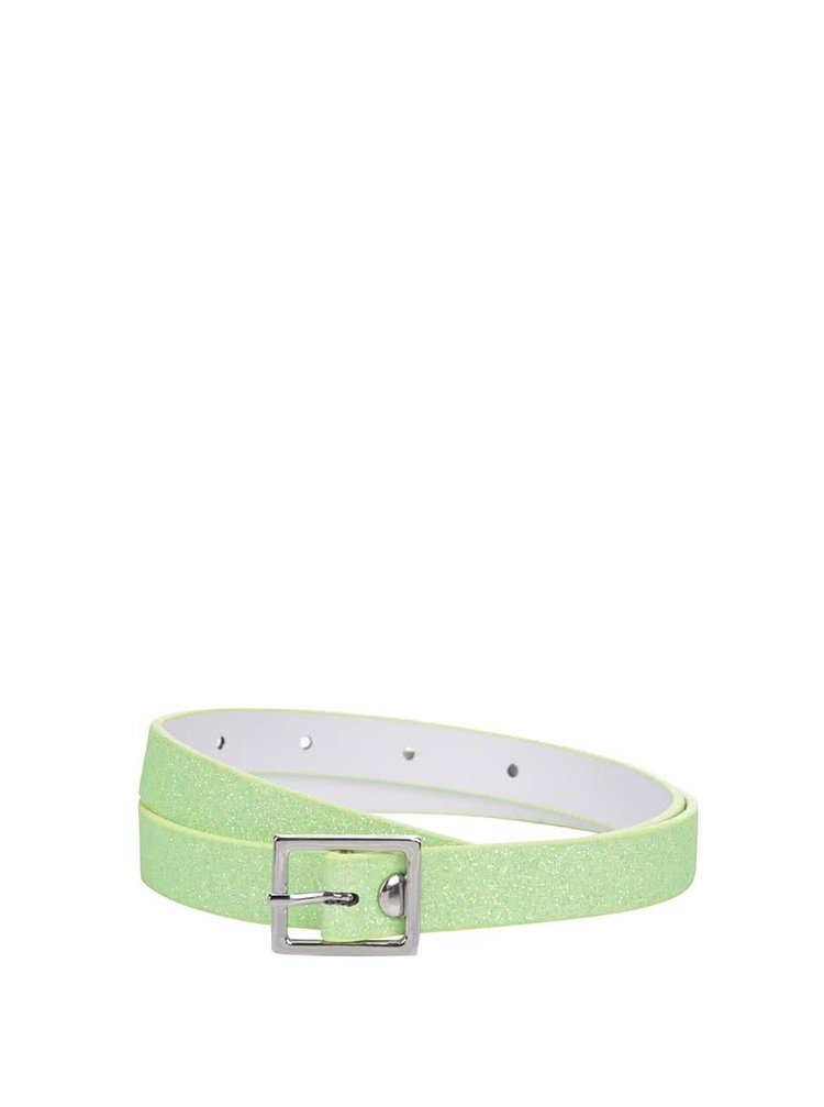 Zelený trblietavý dievčenský opasok name it Angilic
