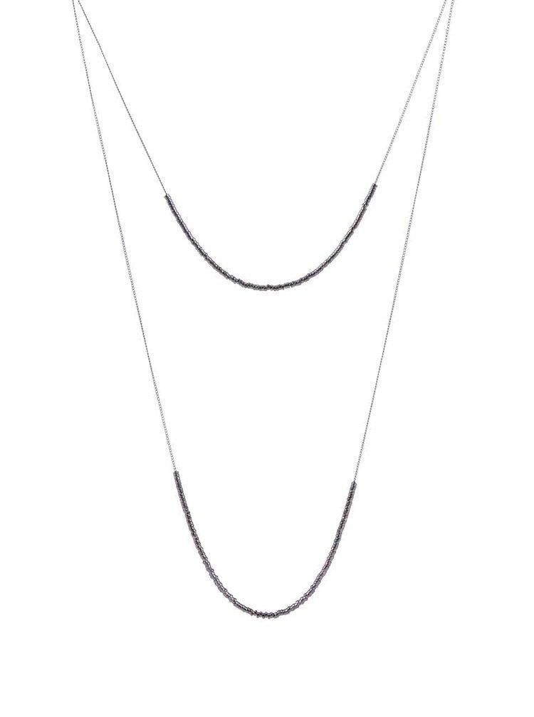 Colier Pieces Tashia gri