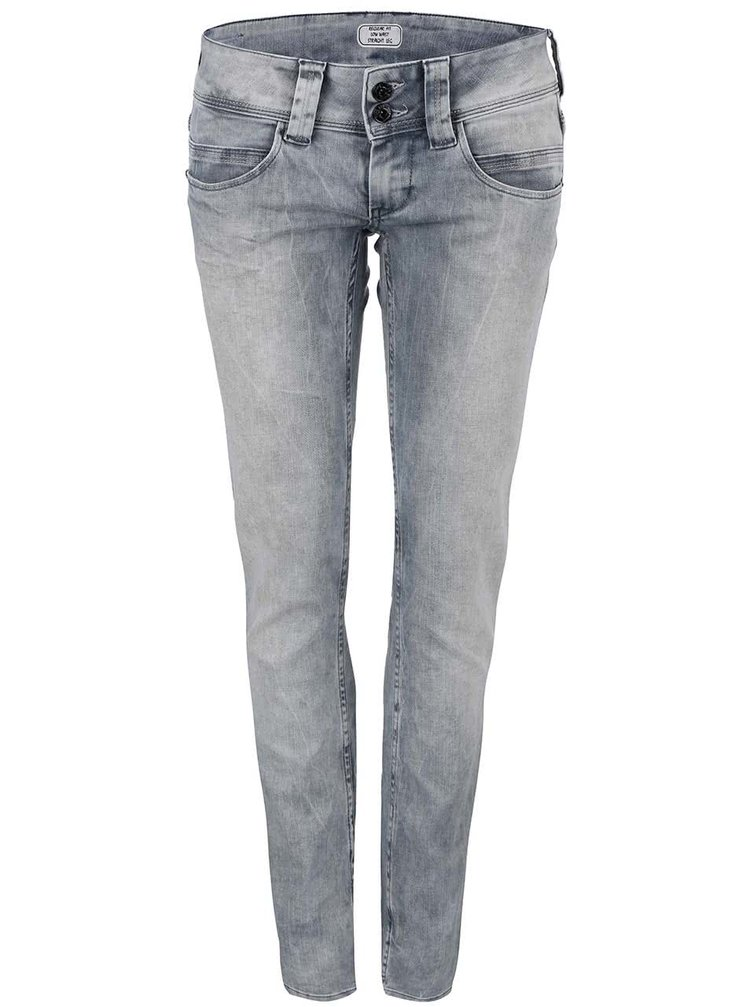 2424b7682b1 ... Šedé dámské džíny s nízkým pasem Pepe Jeans Venus