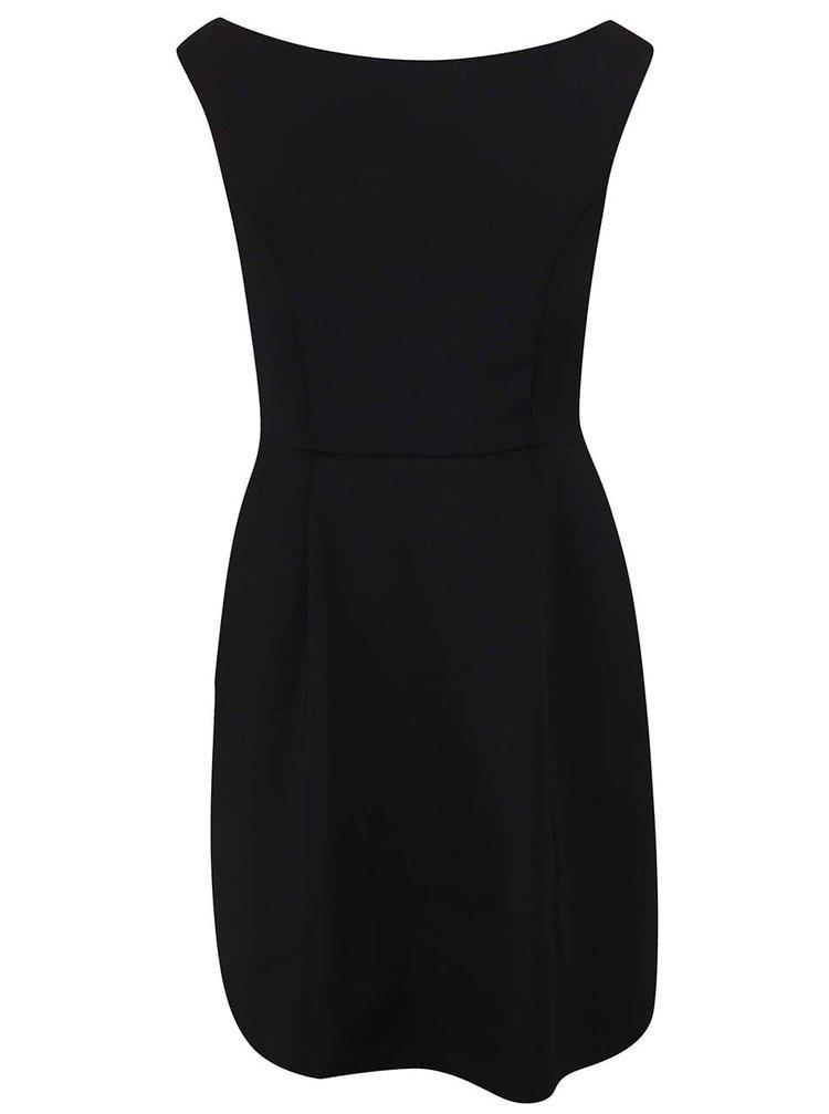 Čierne šaty VILA Atlas