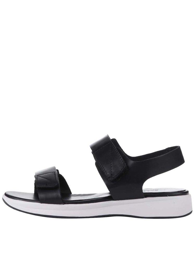Sandale Vagabond Daria negre cu platformă