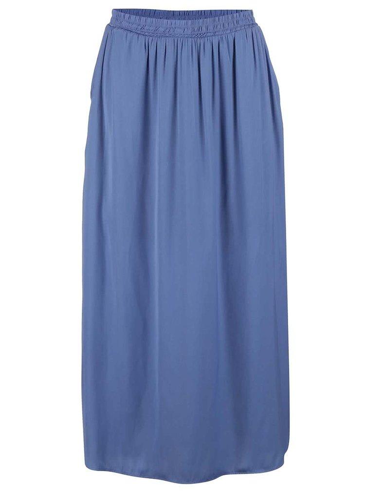 Modrá dlouhá sukně VERO MODA Nellie