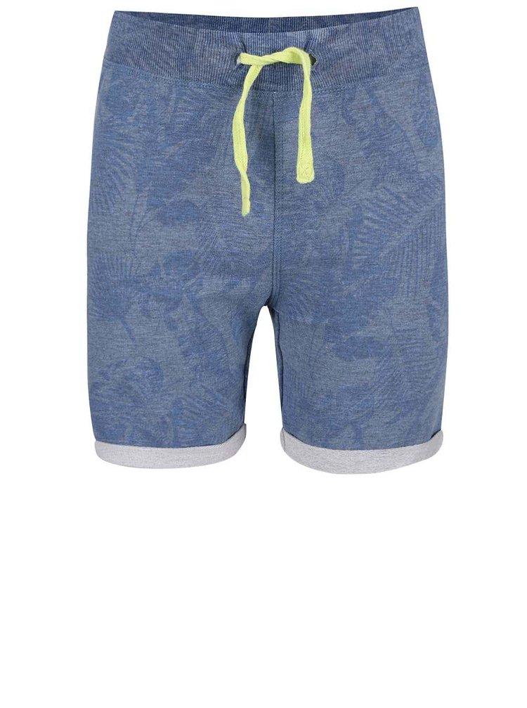 Modré chlapčenské teplákové kraťasy name it Gomat