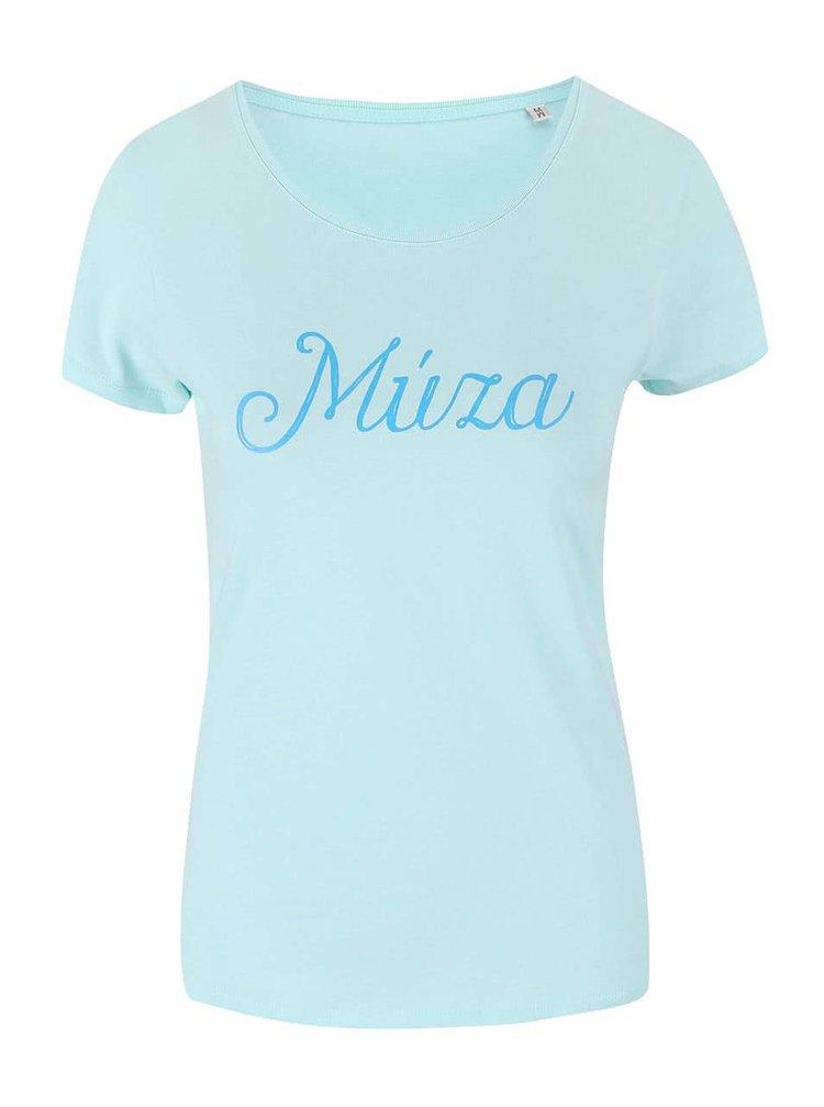 Mentolové dámské tričko ZOOT Originál Múza