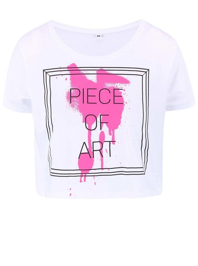 Bílé dámské tričko ZOOT Originál Piece Of Art