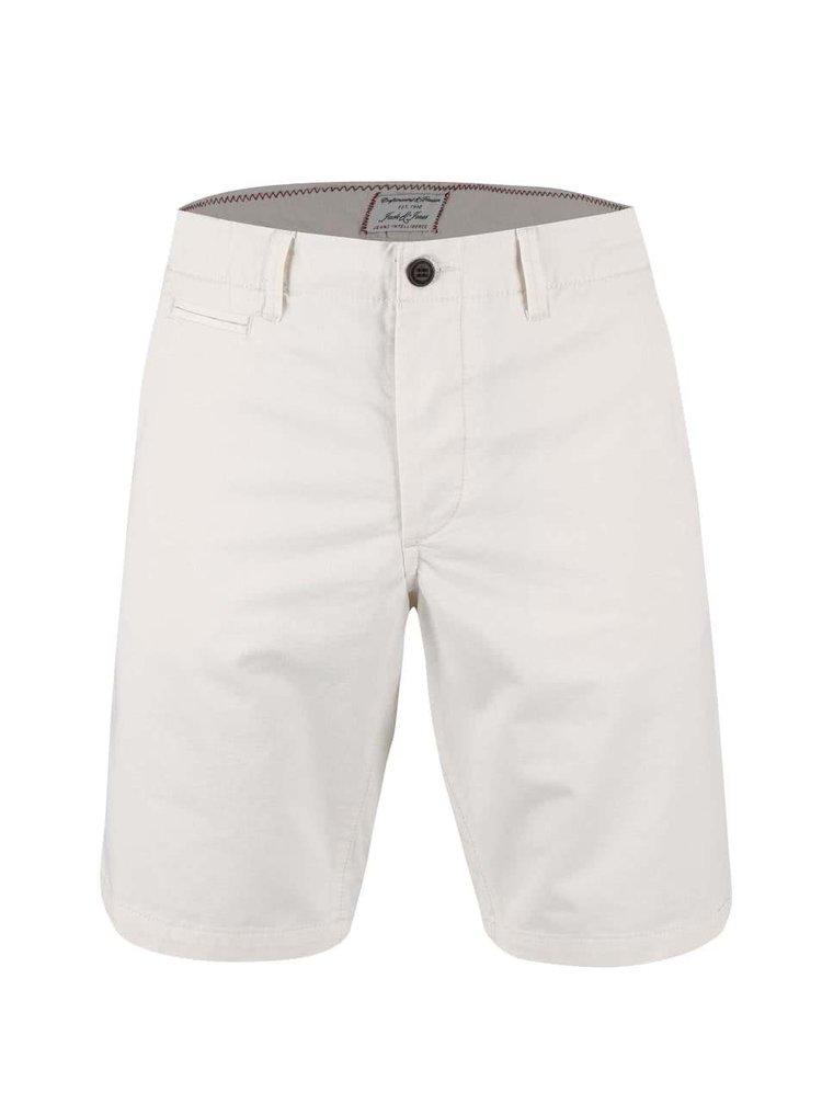 Pantaloni scurți Jack & Jones Graham crem