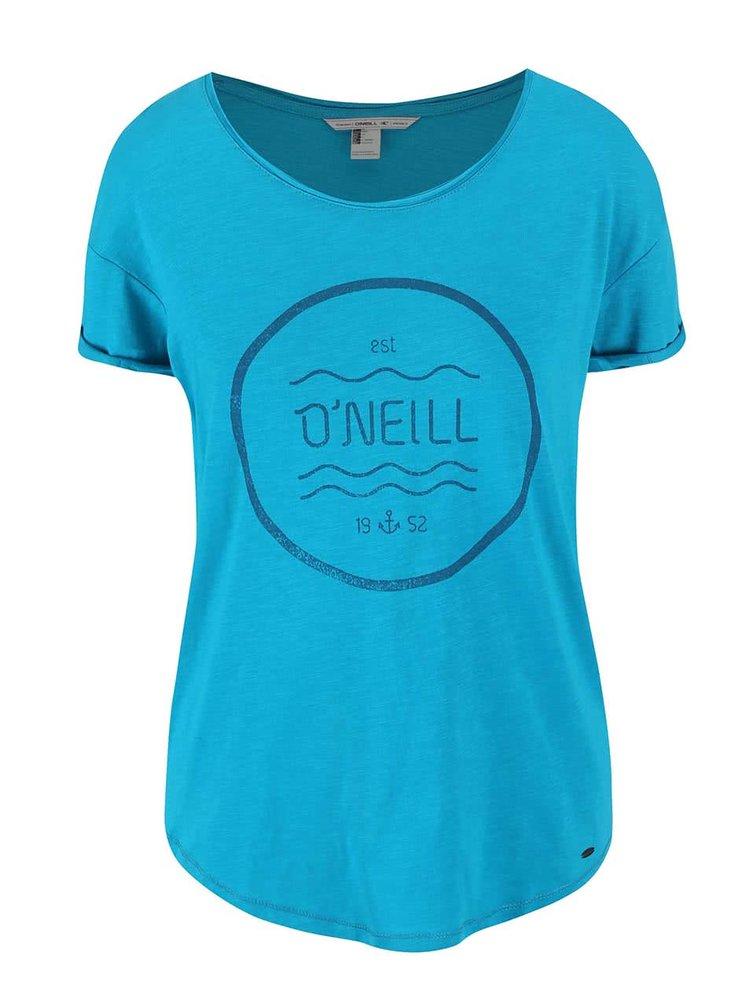 Tyrkysové dámské tričko O'Neill Script