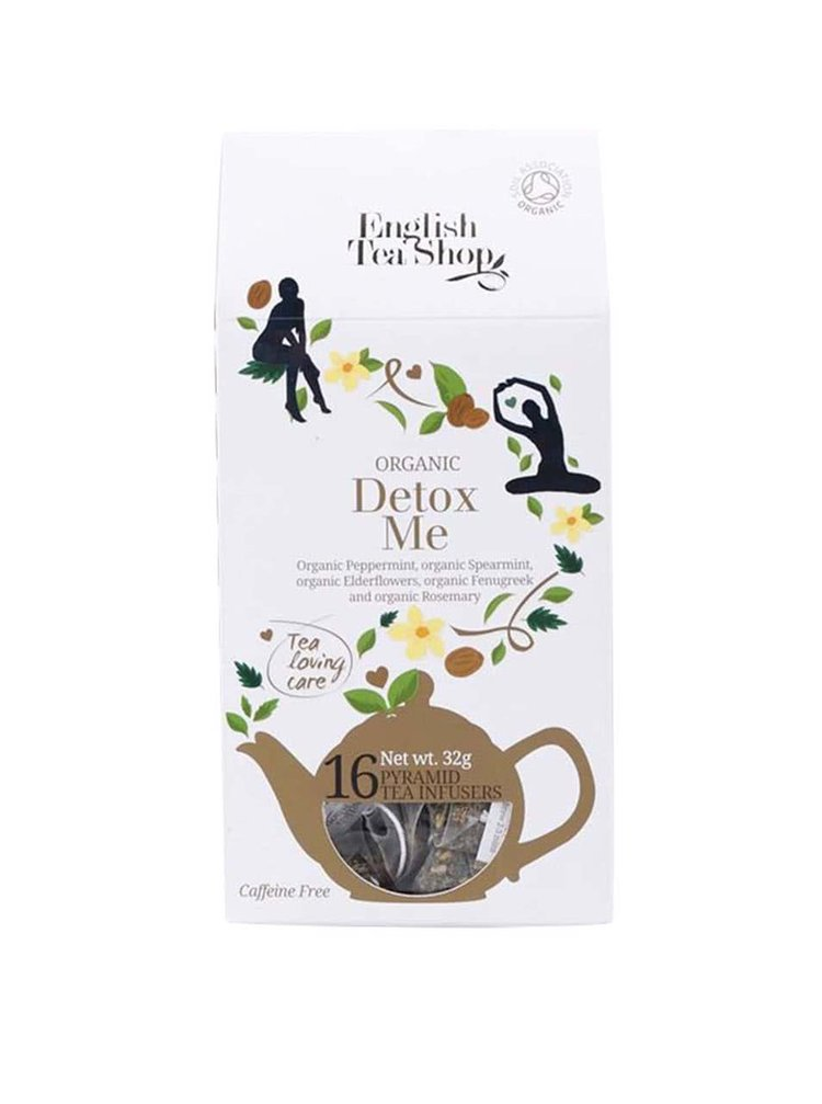 "Ceai piramidă ""Detox Me"" English Tea Shop"