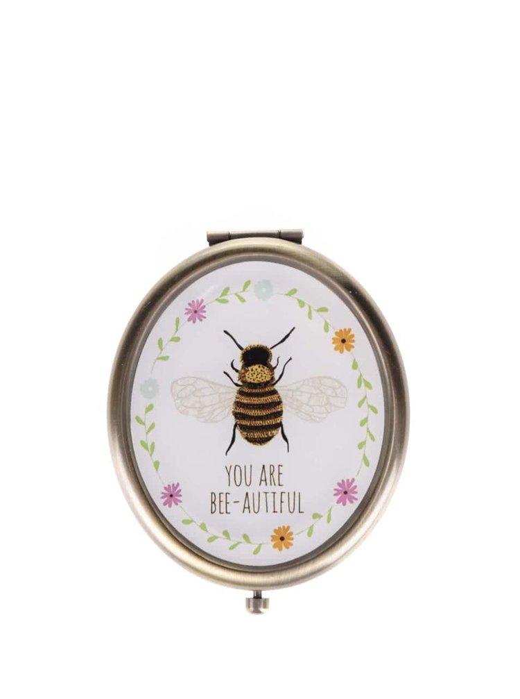 Kompaktní zrcátko s včelkou You Are Bee-autiful Sass & Belle