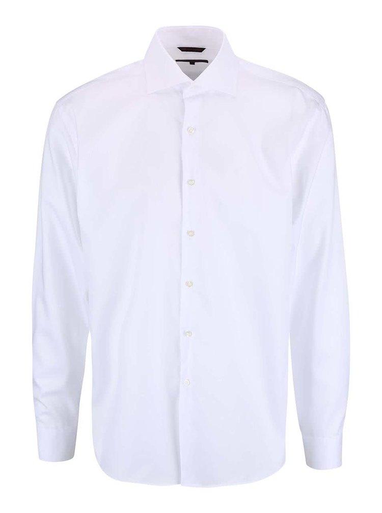Bílá pánská formální slim fit košile Seven Seas Fine Twill