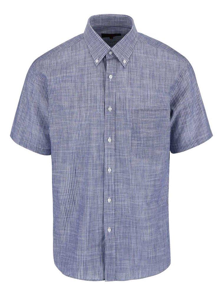 Šedo-modrá košile Seven Seas