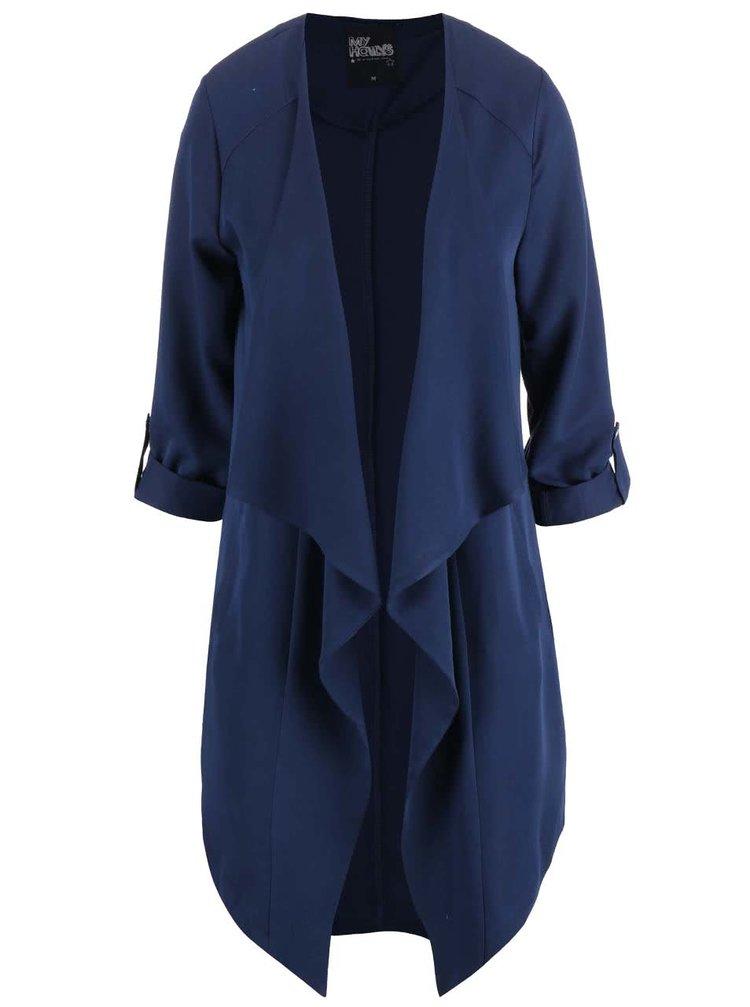 Tmavě modrý lehký kabát Haily´s Selena