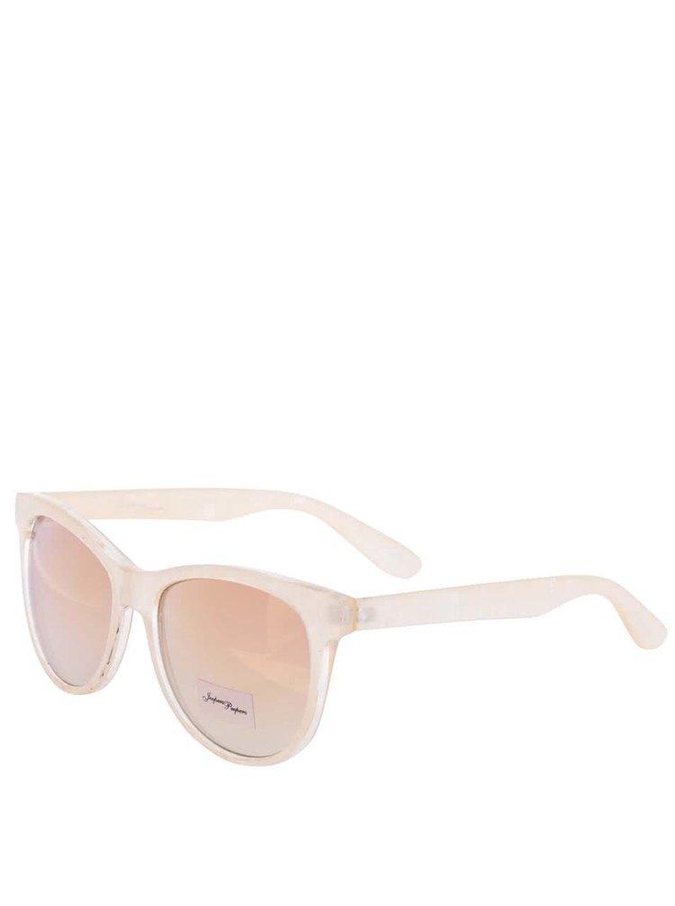 Svetloružové dúhové dámske slnečné okuliare Jeepers Peepers Harper