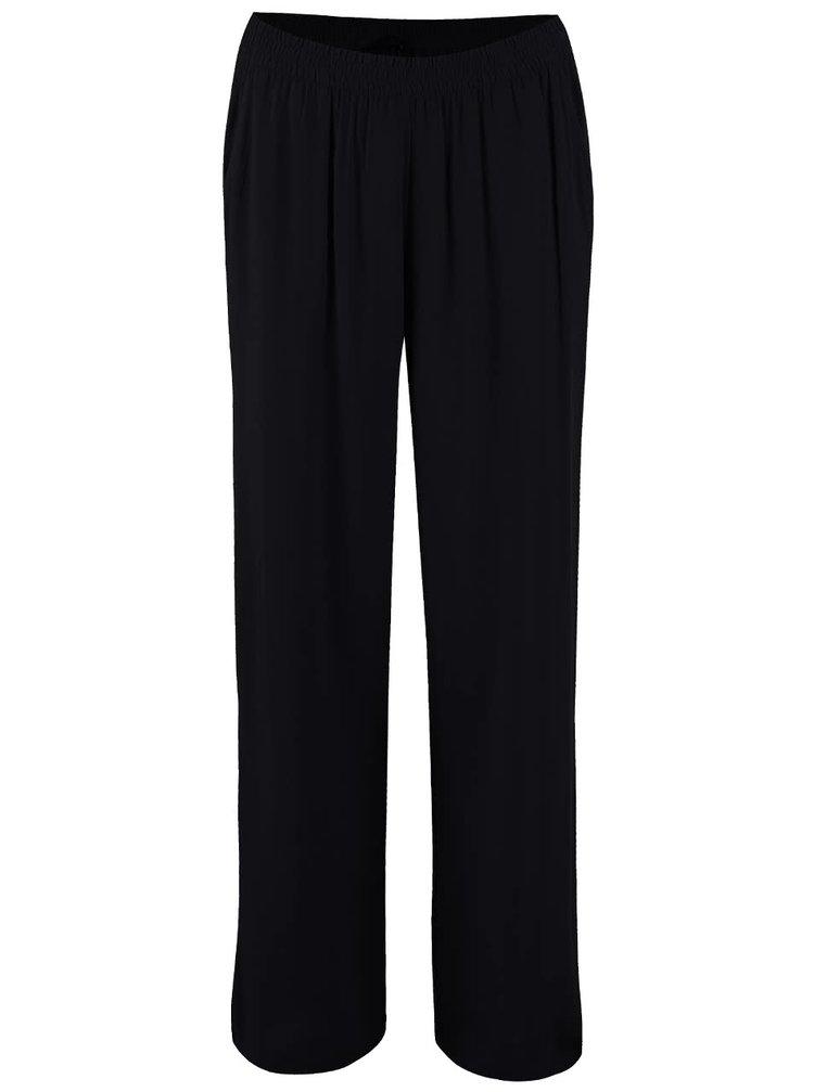 Čierne voľnejšie nohavice ONLY Nova
