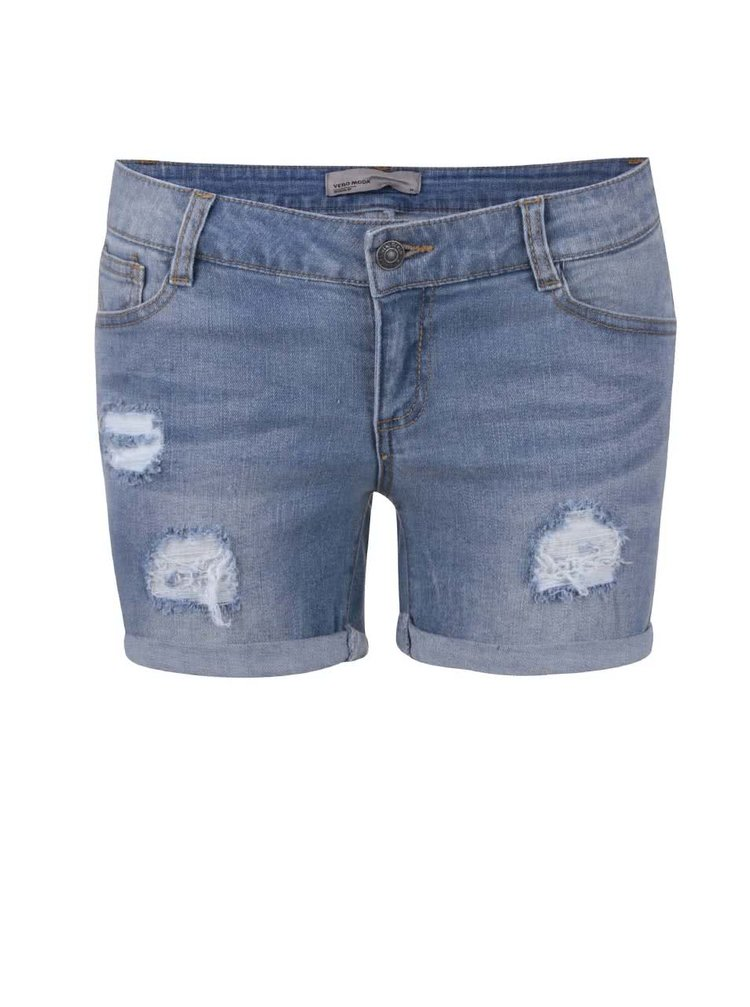 Pantaloni scurți VERO MODA Be Five din denim