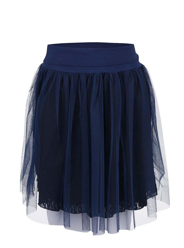 Tmavě modrá taneční sukně DEHA