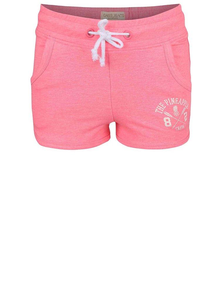Pantaloni scurți Cars Jeans Shorty roz pentru fete