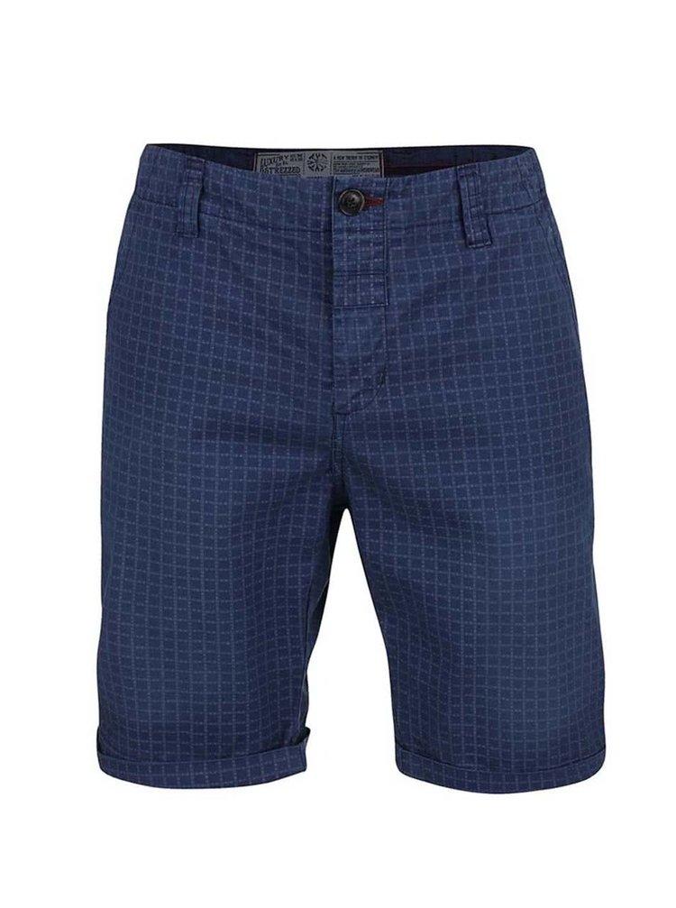 Pantaloni scurți Dstrezzed navy cu model