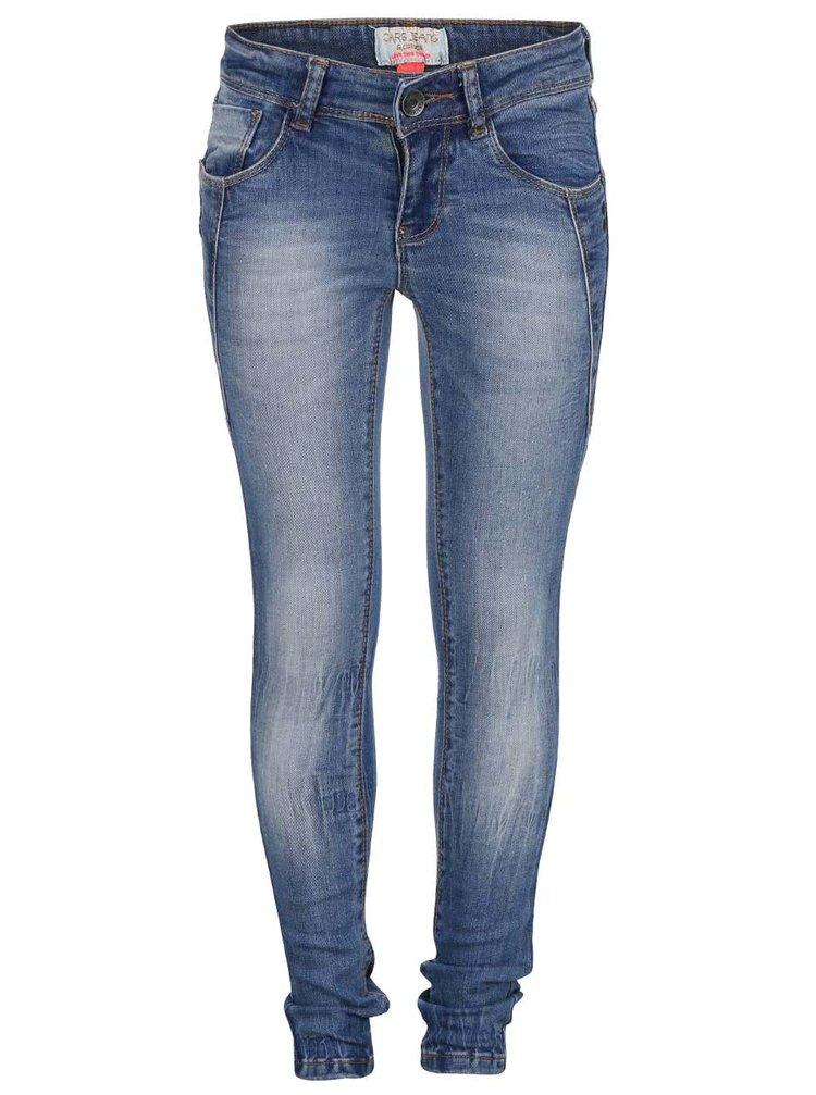 Modré dievčenské rifle Cars Jeans Vicky