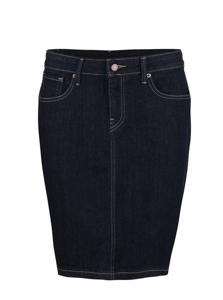 Tmavomodrá rifľová sukňa Levi's®