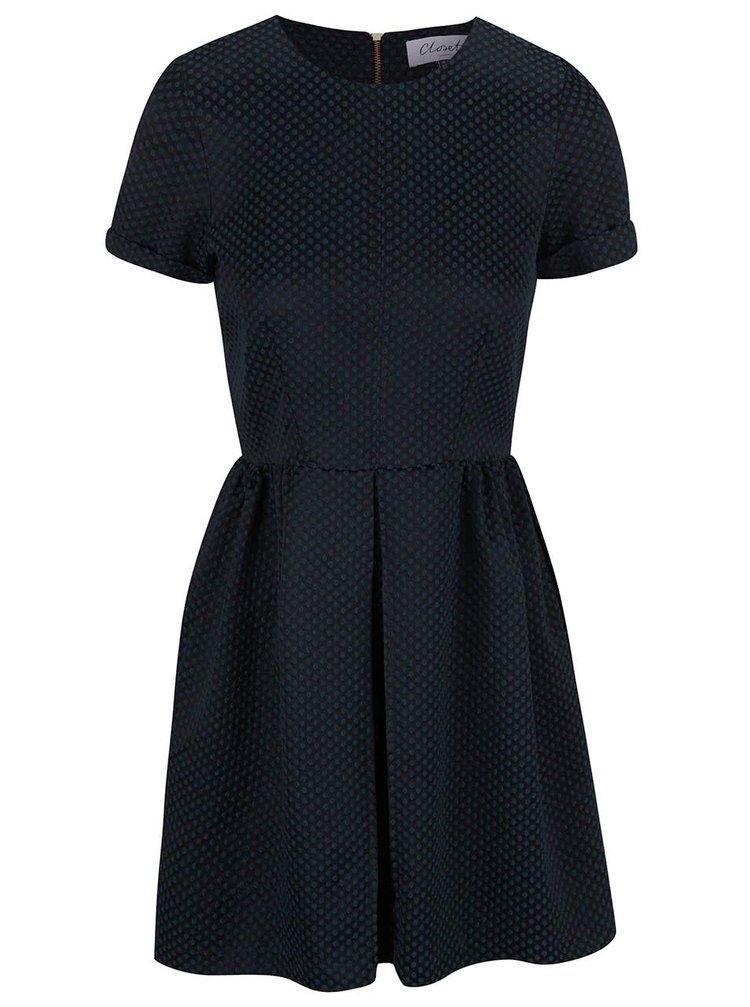 Rochie Closet neagră cu model