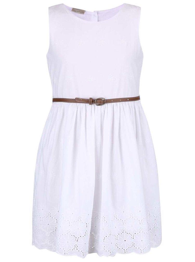 32111f707037 ... Biele dievčenské šaty s opaskom name it Gimola