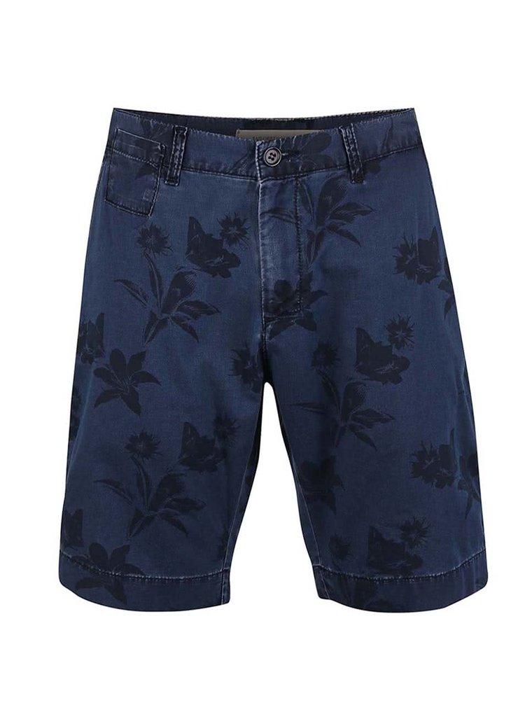 Pantaloni scurți Tailored & Originals Ruthwell albaștri cu model