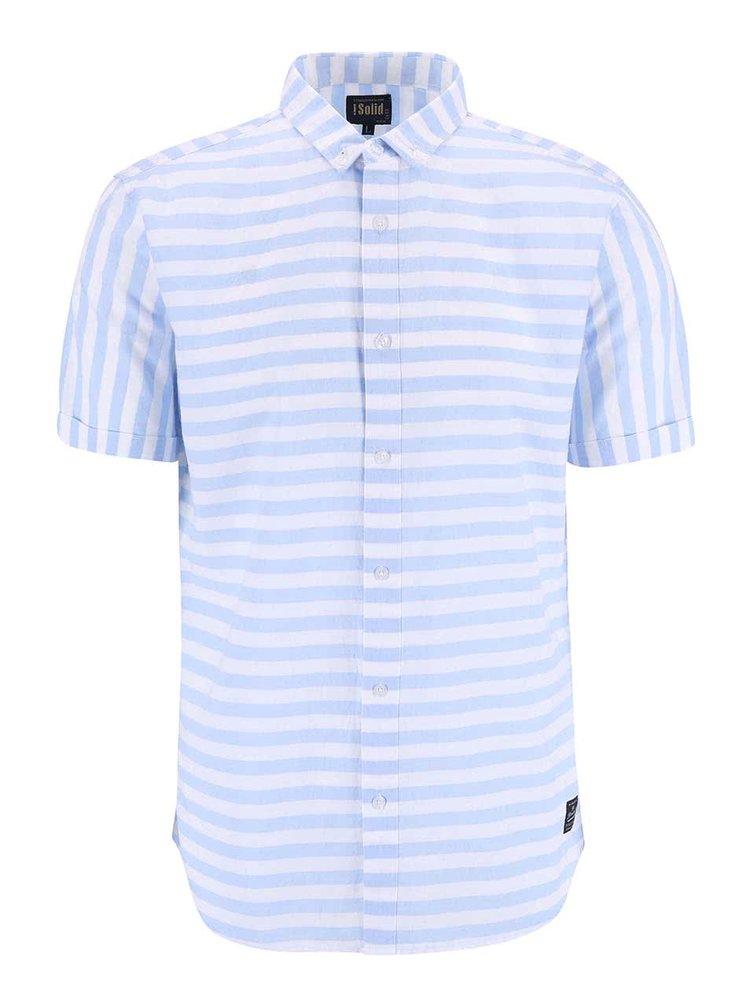 Modro-biela pruhovaná košeľa !Solid Bevin