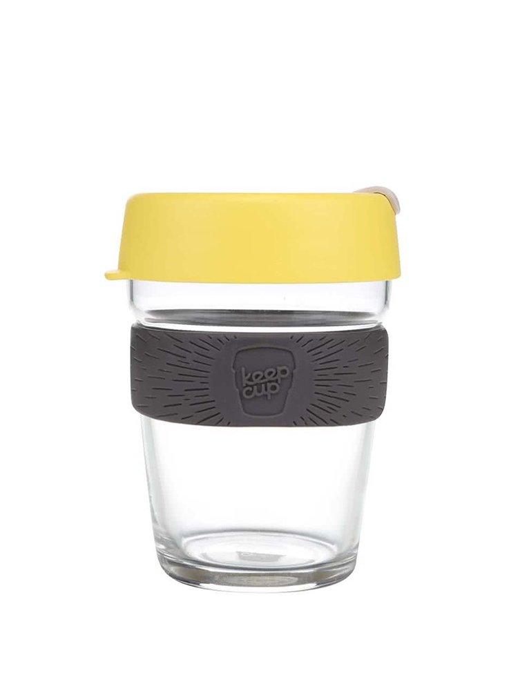 Designový cestovní skleněný hrnek KeepCup Brew Honey Medium