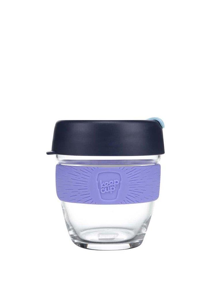 Dizajnový cestovný sklenený hrnček KeepCup Brew Cabernet Small