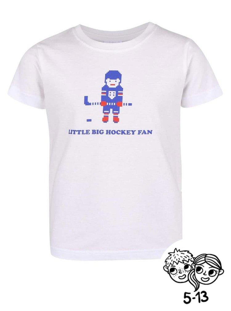Tricou ZOOT Kids alb cu model pentru copii