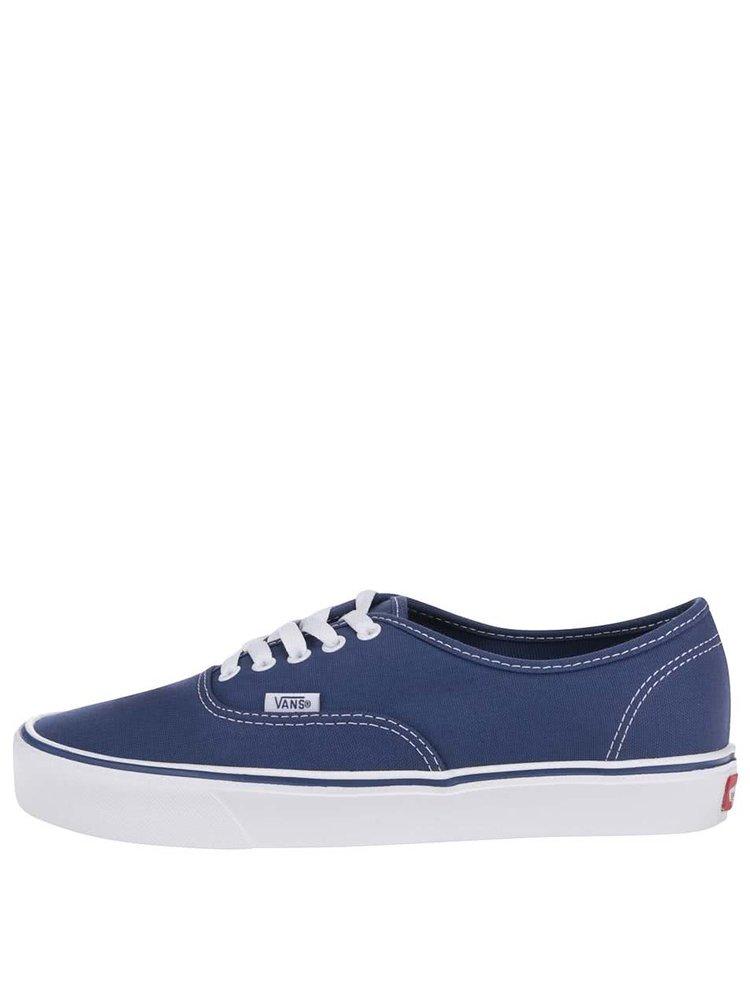 ... Modré pánské tenisky Vans Authentic Lite d9601febce