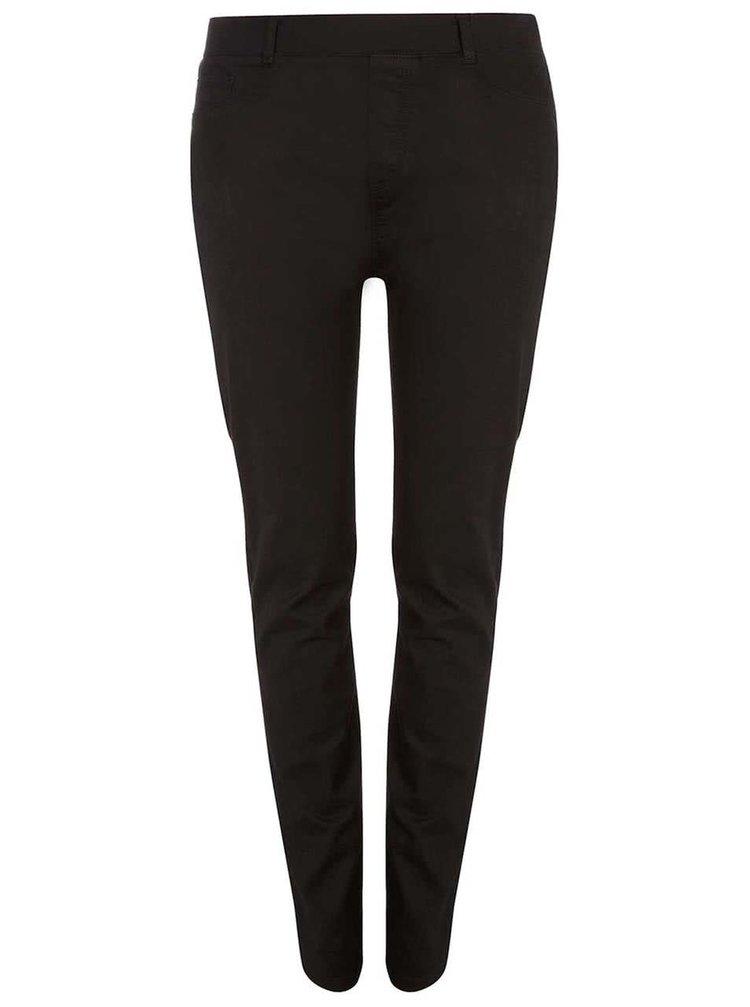Čierne elastické nohavice Dorothy Perkins Curve