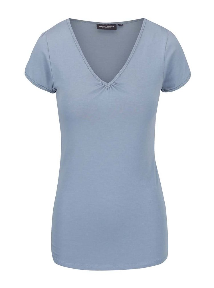 Sivomodré dámske tričko Broadway Dana