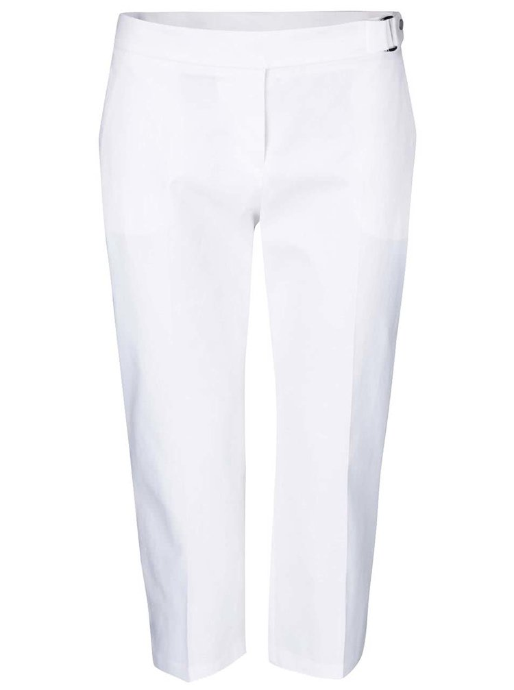 Pantaloni Dorothy Perkins Petite albi