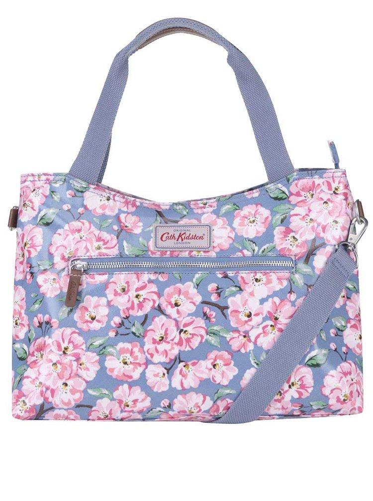 Modrá kvetovaná kabelka Cath Kidston