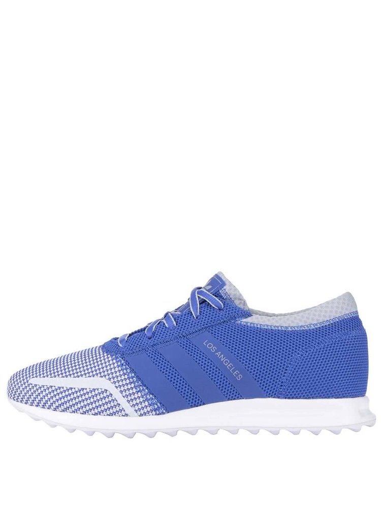 Bílo-modré pánské tenisky adidas Originals Los Angeles