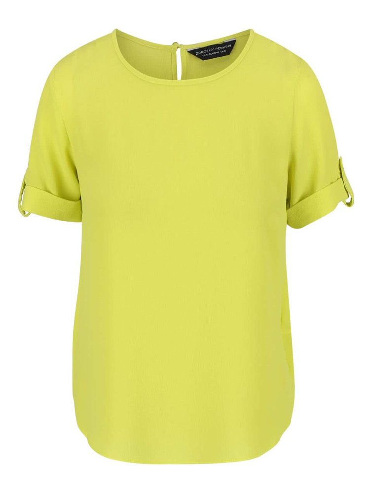 Top Dorothy Perkins galben