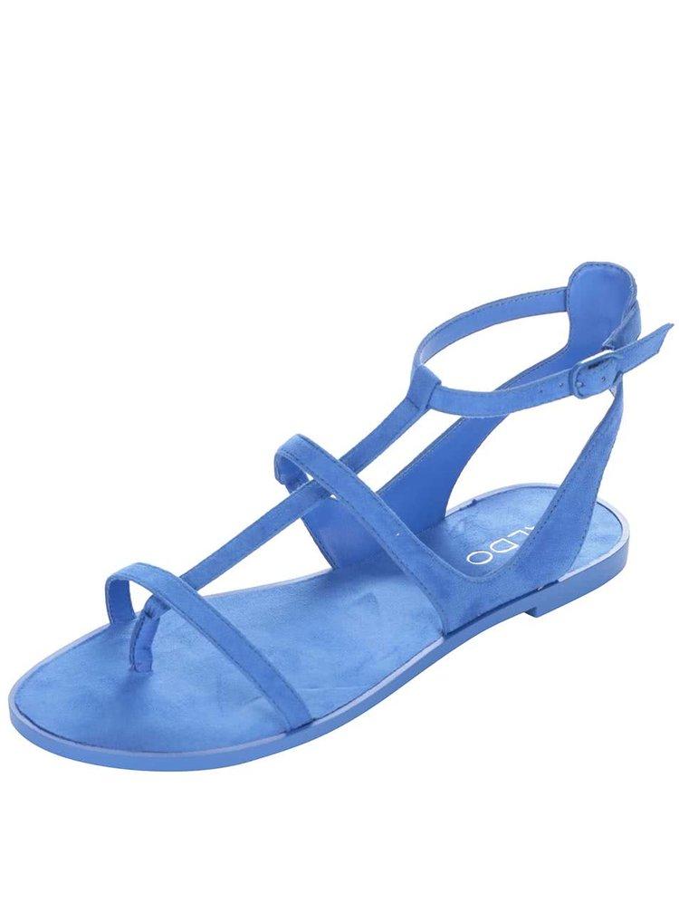 Modré páskové sandály ALDO Tiphanie