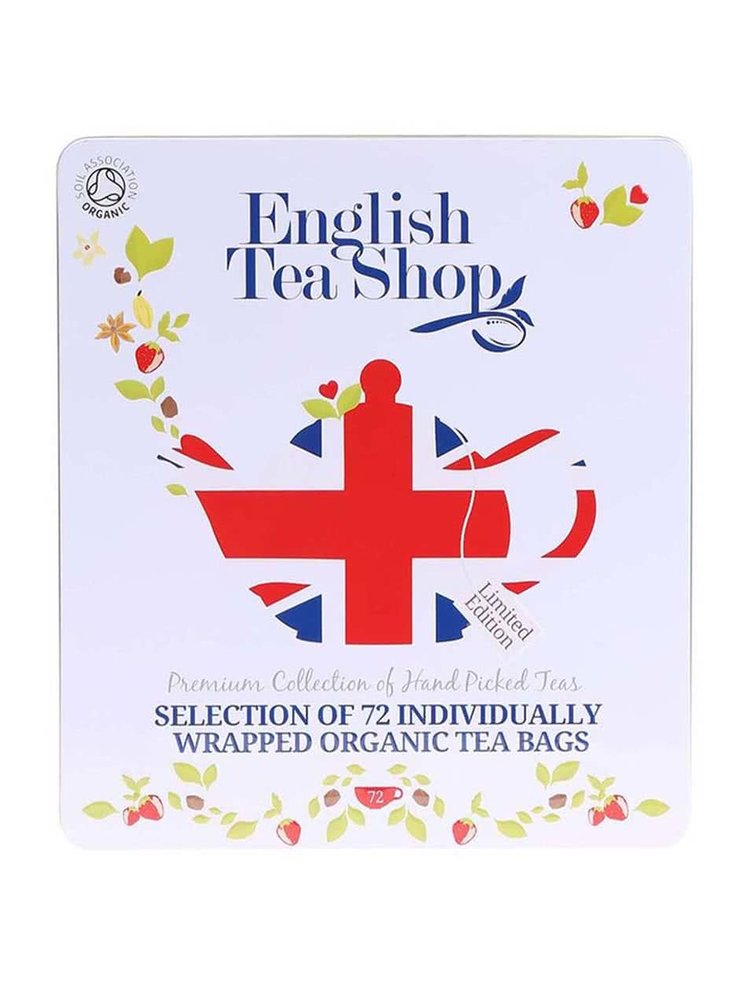 Plechová kazeta se 72 čaji English Tea Shop Diamond Jubilee