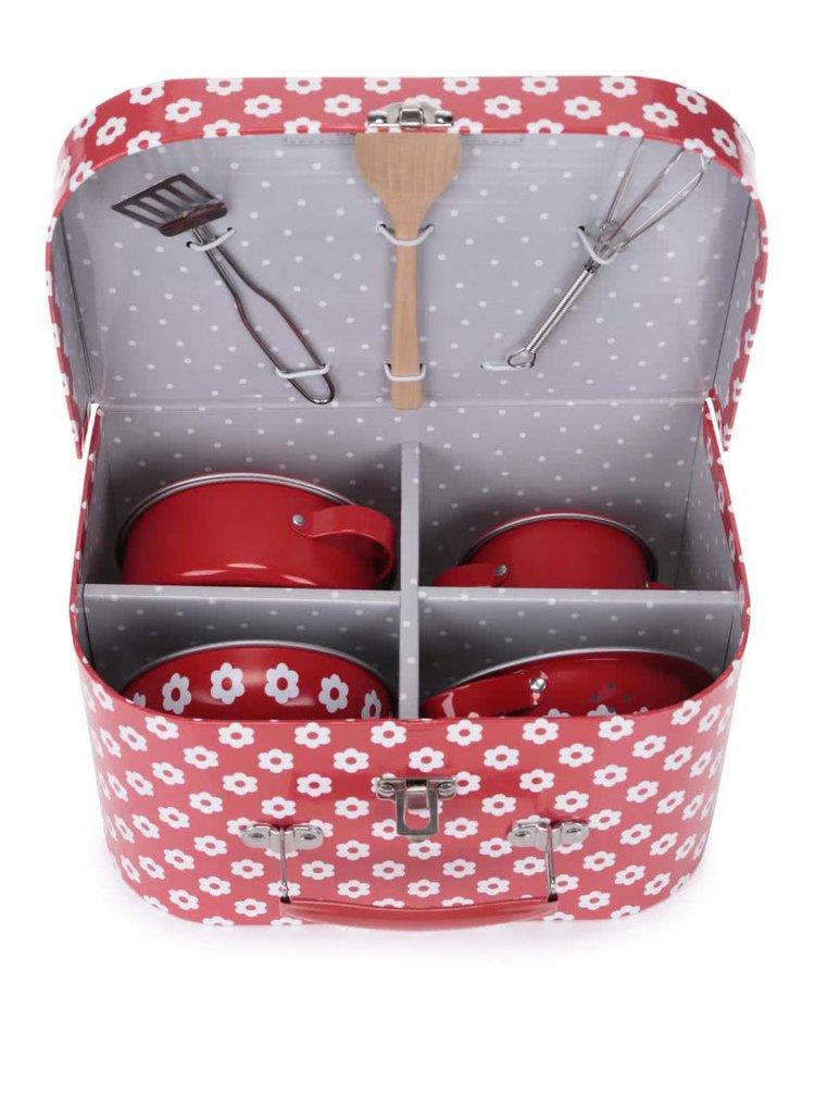 Set ustensile de bucatarie pentru copii Sass & Belle