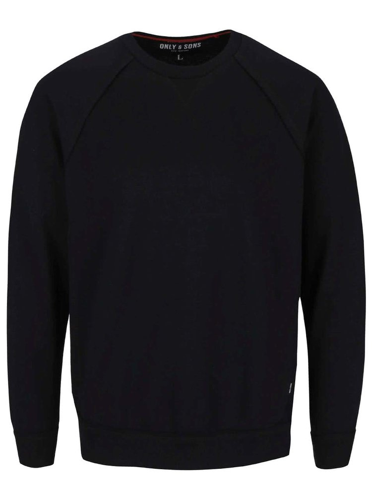 Bluza neagra ONLY & SONS Frede