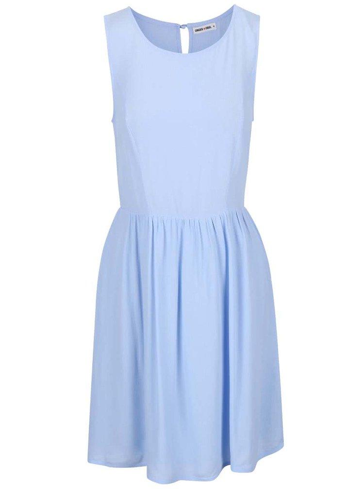 Světle modré šaty GINGER+SOUL