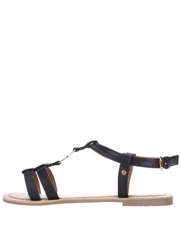 Sandale Tom Tailor negre