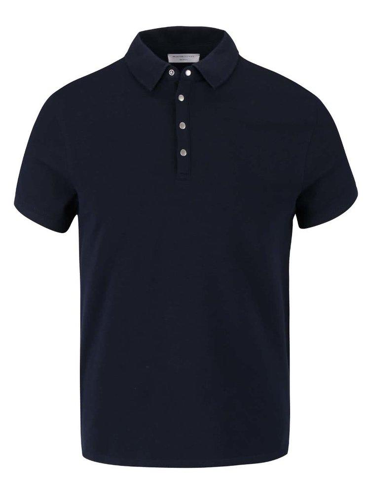 Tmavě modré polo triko Selected Dawson