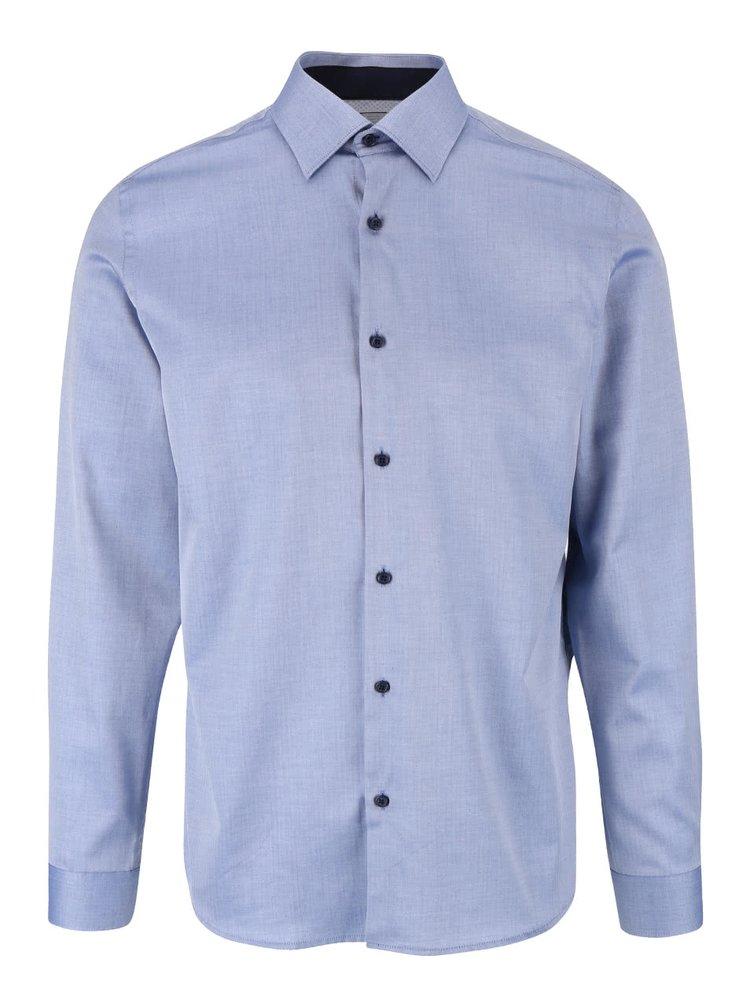 Modrá košile Selected Homme Two Penkingston