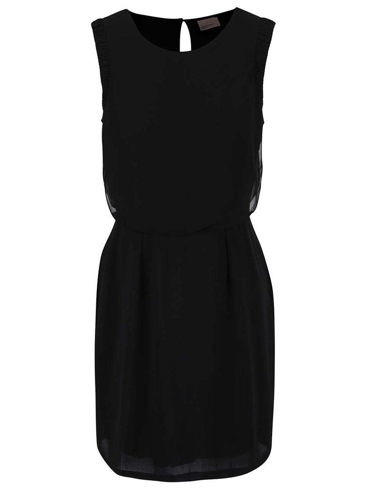 Černé šaty VERO MODA Theresa