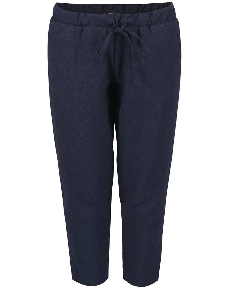 Tmavě modré zkrácené kalhoty Alchymi Zircon